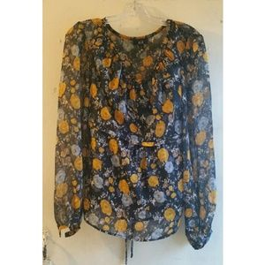 AGB Clothing floral top